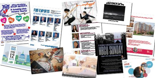 Postcards & Flyers